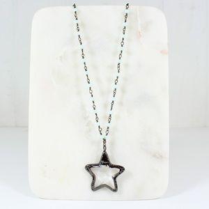 Jewelry - Glass Star pendant